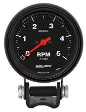 Auto Meter 2888 Pedestal 2 58 Universal Tachometer 0 5000 Rpm Gauge For Diesel