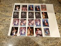 Alonzo Mourning RC Lot of 20 Cards Incl Inserts w 1992 Ultra All Rookie Series
