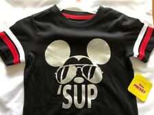 NEW Boys Mickey Mouse Short Sleeve Licensed Tee Size 6 Summer