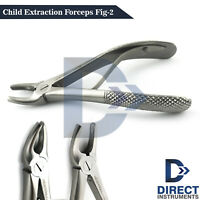 Dental Children Tooth Extraction Forceps Fig-2 Upper Incisors Teeth Oral Surgery