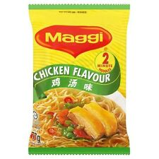 Maggi 2 Minute Noodles Chicken Flavour - 77g - Pack of 8 (77g x 8)