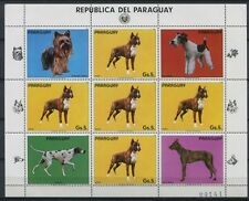 PARAGUAY 1984 Hunde Dogs Haustiere Pets 3715 Kleinbogen ** MNH
