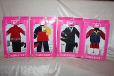 NEW Vintage 1998 Mattel Barbie Fashion Avenue KEN Outfits Lot of (4 ) NRFB