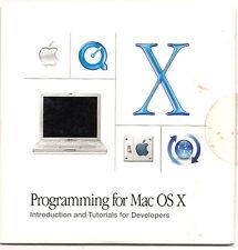 2002 - Dev CD - Programming for Mac OSX