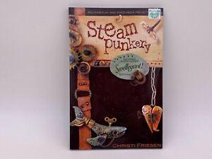 Christi Friesen STEAM PUNKERY BOOK Polymer Clay Mixed Media Revised Swellegant!