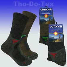 3 oder 5 Paar Trekkingsocken Sportsocken mit Merinowolle weicher Bund keine Naht