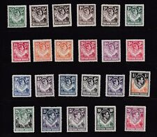 NORTHERN RHODESIA 1938 - 52  VERY GOOD SET VLMH CAT £260