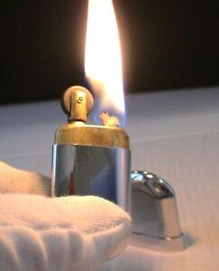 BRIQUET Ancien @ Poilu deLuxe BRASS N° 5 @ Vintage LIGHTER Feuerzeug Accendino