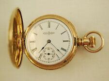 Vintage 1887 Illinois Watch Co. Model 1 - Grade 140 - 6s 7J Pocket Watch