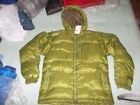 Marmot Ama Dablam Hoodie Parka 800 fp Goose Down Himalayan Coat Jacket NEW Green