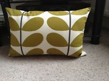 HANDMADE DOUBLE SIDED COVER USING AUTHENTIC ORLA KIELY TWO COLOUR FABRIC