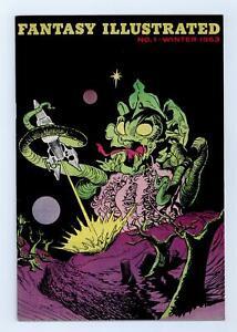 Fantasy Illustrated Fanzine #1 VG 4.0 1963