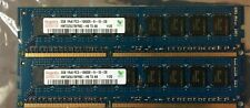 LOT OF TWO SK Hynix 2GB PC3-10600E Memory Chip (HMT325U7BFR8C) RAM 2
