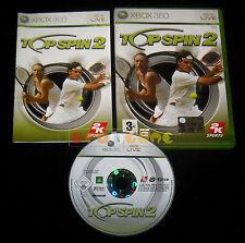 TOP SPIN 2 XBOX 360 Versione Ufficiale Italiana 1ª Edizione ••••• COMPLETO