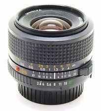 Minolta 28mm f/2.8 MD lens EXC
