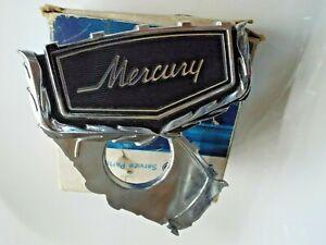 NOS Trunk Lock Cover Emblem 1969 Mercury Monterey Ornament Badge 69 Convertible