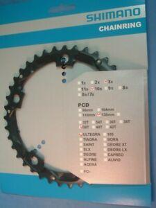 Shimano Ultegra Triple FC-6604 39T-D x 130BCD Chainring-NEW/NOS 3x9/10-Spd-SG-X