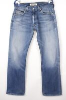 Levi's Strauss & Co Hommes 506 Standart Jeans Jambe Droite Taille W34 L32 BDZ604