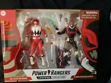 Power Rangers Lightning Collection Lost Galaxy And Psycho Red 2 Pack