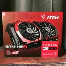 MSI VGA Graphic Cards RX 580 Gaming X 8G GDDR5  1393 MHz 1380 MHz 1340 MHz *NEW*