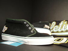 VANS CHUKKA BOOT LX OAKLAND ATHLETICS A'S BOWS & ARROWS JERSEY BLACK GREEN 48 10