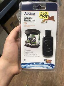 Aqueon Aquatic Flat Heater 5 Watt Up To 2 Gallons. **Free Shipping**