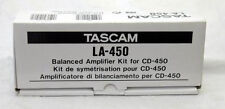 Tascam LA-450 Analog Balancing Amp & AES/EBU for CD-450 - New, Discontinued