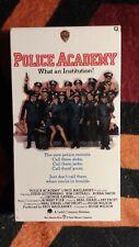 Police Academy vhs