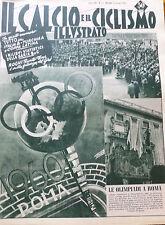IL CALCIO ILLUSTRATO N 25 1955 ROMA SI AGGIUDICA LE OLIMPIADI DEL 1960