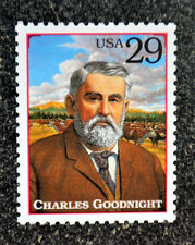 1994USA #2869l 29c Legends of the West - Charles Goodnight  Mint NH texas ranger