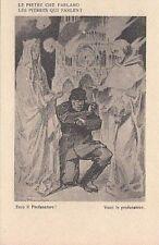 A1306) WW1, SATIRICA ANTI TEDESCA DI RAEMAEKERS, ECCO IL PROFANATORE.