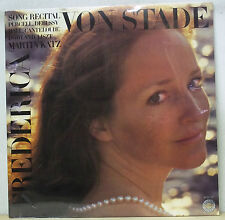 Frederica von Stade - Song Recital PURCELL/DEBUSSY - Columbia M 35127 SEALED
