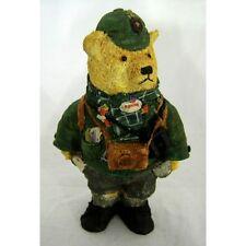 Dennis Teddy Bear Figurine, Colour Box Miniatures, Collectables, Gifts TCC001