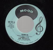 HEAR! Rocker Guitar Instr. 45 LARRY T & THE TRAVELERS Ramblin on Mood