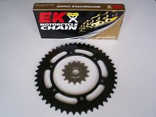 SUZUKI DRZ400SM DRZ 400 SM NEW 15 / 40 (-1) SPROCKET and EK SRO O-RING CHAIN SET