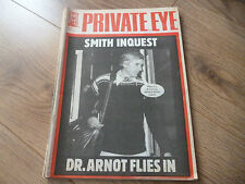 November Private Eye History & Politics Magazines