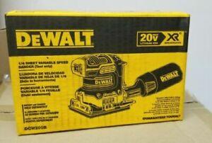 DeWalt DCW200B 20V XR MAX Brushless 1/4 Sheet Variable Speed Sander Bare Tool