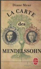 LA CARTE DES MENDELSSOHN Diane Meur LIVRE roman