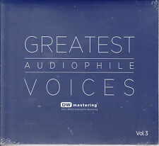 Greatest Audiophile Voices Vol.3 (DW Mastering 24bit/96KHz) CD Brand New Sealed