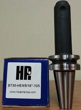 "HPI Pioneer BT30 5/16"" End Mill Holder 4.13"" Coolant Thru **NEW**"