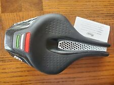 Selle Italia Iron Tekno Flow Saddle for Tri/TT; Large, full carbon, brand new
