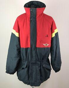 RARE SC Bern BLACKY Vintage Jacket Men's Size L 1990's Hockey Full-Zip Parka
