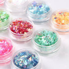 Nail Art Hexagon Chunky Mylar Ice Glitter Flakes Glitter Dance Party Nice