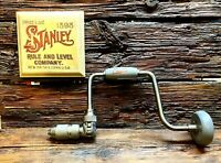 """Stanley Handyman 1253 10"""" Hand Brace   Made in USA   Excellent Condition"""