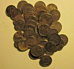 Poland selection lot of 1 Grosz coins - 40 pcs.