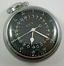 Hamilton 4992B G.C.T. Pocket Watch U.S. 4C105675 Navigation Military