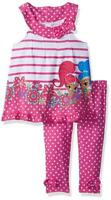 Shimmer and Shine Girls Tunic 2pc Legging Set Size 2T 3T 4T 4 5 6 6X