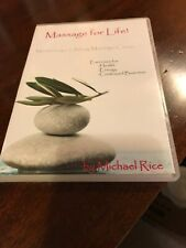 DVD Massage Career for Life by Michael Rice ~Health-Energy-Business