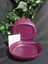 Tupperware New Purple Rhubarb Microwave Micro Delight Bowl Container