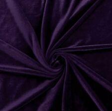 STRETCH Purple VELVET COSTUME / CRAFT DRESS FABRIC 58